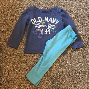 Old navy 2t outfit